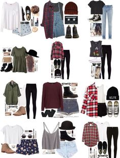 Pin by ezann ezann on outfits in 2019 kıyafet, moda, elbisel Teen Fashion Outfits, Look Fashion, Outfits For Teens, Korean Fashion, Fall Outfits, Summer Outfits, Casual Teen Fashion, Teenager Outfits, College Outfits
