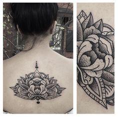 Lotus flower by Charley Gerardin done at Third Eye Tattoo, Fitzroy North, Melbourne. Third Eye Tattoos, Black And Grey Tattoos, Lotus Flower, Cool Tattoos, Melbourne, Piercings, Tattoo Ideas, Ink, Eyes