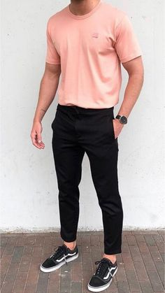 At that point, ample opportunity has already past to get motivation from this article about men street style outfits fashion. Street Style is stylish Summer Outfits Men, Stylish Mens Outfits, Casual Outfits, Men Casual, Outfits For Men, Cochella Outfits, Basic Outfits, Casual Pants, Fall Outfits