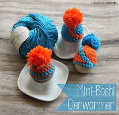 Mini-Boshi: gehäkelte Eierwärmer {Tutorial}