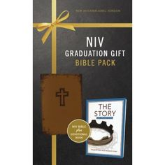 A perfect gift for the graduate, this Graduation Gift, Bible Pack includes an NIV Bible in a striking binding as well as The Story Devotional, featuring 365 daily Scripture readings. Graduation Quotes, College Graduation, Scripture Reading, Daily Scripture, Niv Bible, Graduation Gifts, Congratulations, Packing, School