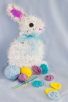 Easter egg crochet a