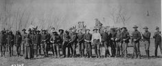 American Old West | Troop`C,' 5th Cavalry, which arrested boomers and squatters prior to the Oklahoma land rush