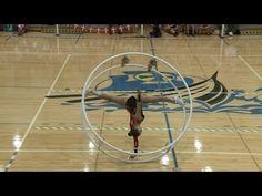 WC 2013 in Wheel Gymnastics Junior woman Jana Holtermann 1st Place - YouTube
