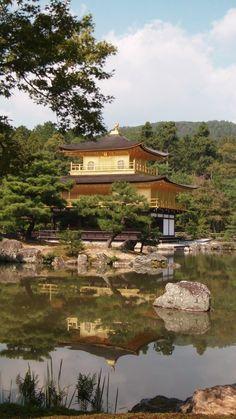 Temple of the Golden Pavilion.