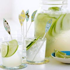 Apple-Lime Coolers hit the spot for a spring-fresh libation. To make homemade…