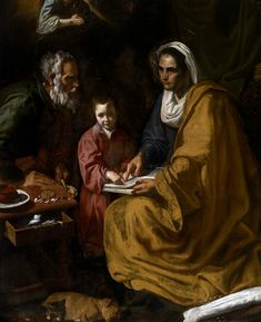 https://flic.kr/p/GWEpPo | The Education of the Virgin | c. 1617-1618. Oil on canvas. 168 x 136 cm. Yale University Art Gallery, New Haven, Connecticut. 1900.43.