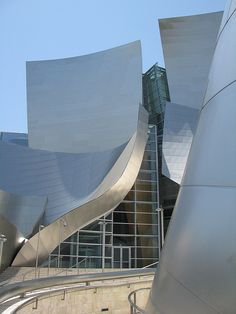 Disney Concert Hall. Arch: Frank Gehry. Los Angeles