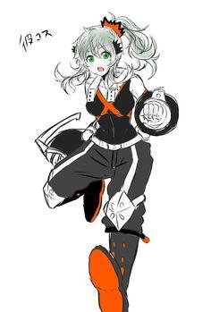 Boku no Hero Academia || Midoriya Izuku (Version Female)