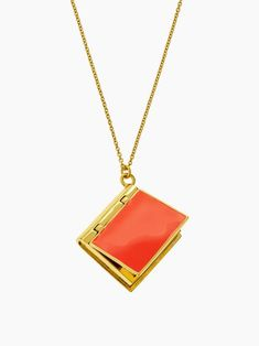 by the book pendant - kate spade new york Jewelry Accessories, Fashion Accessories, Fashion Jewelry, Book Necklace, Book Jewelry, Book Lovers Gifts, Diamond Are A Girls Best Friend, Book Nerd, Designing Women