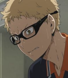 Tsukki was trying to be indifferent to his brother but he looks so frustrated and he's crying