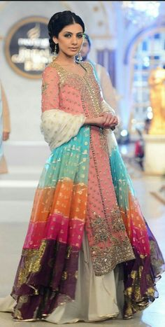 Fahad Hussayn Pakistani Formal Dresses, Pakistani Outfits, Indian Dresses, Indian Outfits, Indian Attire, Indian Wear, Asian Wedding Dress, Wedding Dresses, Anarkali