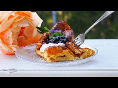Tinskun keittiössä ja Tyynen kaa: Täydellinen pannukakku – Kylmän uunin tekniikalla Camembert Cheese, Waffles, Breakfast, Food, Youtube, Morning Coffee, Essen, Waffle, Meals