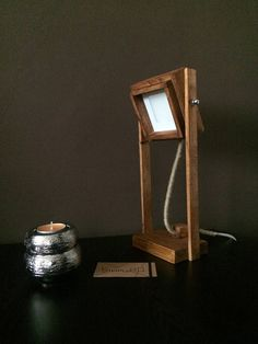 Wood LampDesk Wooden LampLed LampTable LampReading