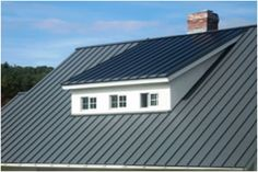 A beautiful Englert metal roof with SunNet photovoltaic laminates = renewable solar energy loving the idea on my house. Make it happen.
