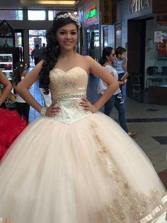 0fc1787eb4 83 Best La Glitter Quinceañera dresses images