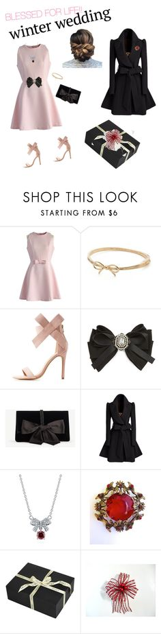 """""""GOD BLESS !!"""" by cathynmy5 ❤ liked on Polyvore featuring Chicwish, Kate Spade, Charlotte Russe, Cara, Ann Taylor, BERRICLE and Amara"""