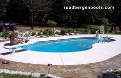 In-Ground pool by Roodbergen Pools and Spas #ingroundpool #roodbergen #summerfun