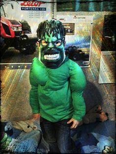 Costume Hulk DIY