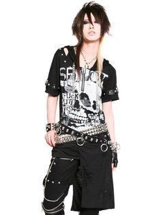 skull punk flap cutsew sex pot revenge japanese fashion brand style