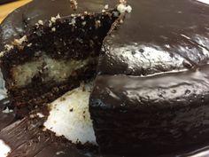 Bolo de Chocolate e Côco