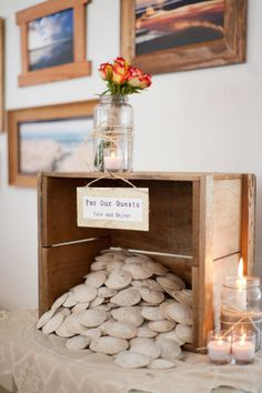 Sand Dollar Wedding Favors.