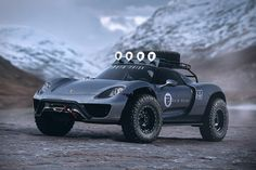 No category of cars is consistently as eye-catching as supercars. These Rain Prisk Off-Road Car Concepts take the world's raciest autos and adapt them for off-track use. Expertly rendered and placed in rugged environs, they include offerings from such renowned...