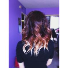 40 Hottest Ombre Hair Color Ideas for 2015 Ombre Hairstyles ❤ liked on Polyvore featuring hair and hair style