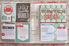 Mish Mash: December Memories 2013...Pages 20-24