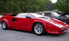 The Vintage Lambo! What vintage car would you drive?