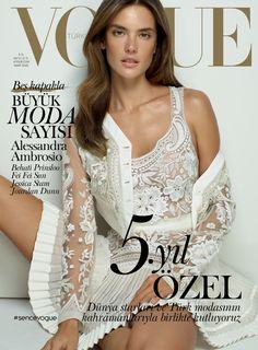 Vogue Türkiye Mart 2015 / March 2015 #magazine #magazinecover #AlessandraAmbrosio