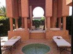 Amanjena, Marrakech, Morocco Marrakech Morocco, Outdoor Furniture Sets, Outdoor Decor, Resorts, Patio, Home Decor, Oriental Style, Terrace, Vacation Resorts