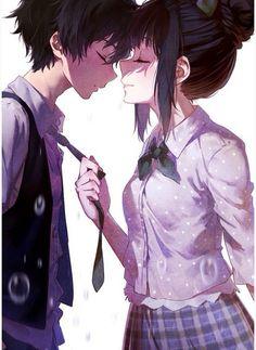 - Anime,Zeichnungen etc. -Anime couple - Not sure who this couple is. - Anime,Zeichnungen etc. Manga Anime, Art Manga, Anime Kiss, Couple Manga, Anime Love Couple, I Love Anime, Cute Couple Art, Couple Ideas, Couple Pics