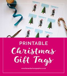 Wrapping Christmas presents is even more fun when you have lovely gift wrap. So here's a set of free printable Christmas gift tags featuring Reg the Penguin. Read on to grab your download.