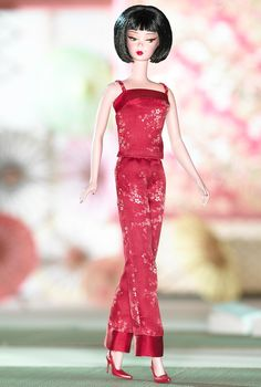 Chinoiserie Red Midnight™ Barbie® Doll | Designed by: Robert Best. Release Date: 6/23/2004