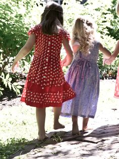 Elly Girls Dress   Baby :Beautiful Designs by April Cornell