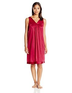 Vanity Fair Women's Coloratura Sleepwear Short Gown 30107