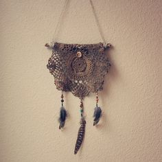 made by roots and feathers on etsy. #dreamcatcher