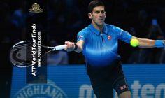 Agen Bola - Petenis asal Serbia peringkat satu dunia Novak Djokovic secara meyakinkan berhasil menundukkan Kei Nishikori asal Jepang peringkat delapan dunia dalam dua set langsung 6-1 6-1 pada pertandingan perdana mereka di ATP World Tour Finals 2015 yang baru saja berakhir di O2 Arena London. Live Casino, Videos, Finals, World, Tennis, Pictures, Final Exams, The World