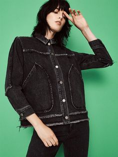 Who's new on the denim scene this season? Bliss and Mischief, the brainchild of designer Hillary Justin, uses vintage Levi's denim and upcycles it with beautiful embroidery and patchwork. New label Kéji draws on the fabric's working roots by solely using non-stretch denim, sourced from Japan and crafted in Hong Kong. Meet the denim class of 2016.