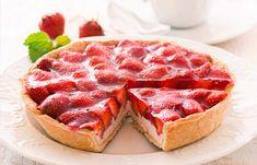 Erdbeer Mürbteigtarte