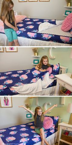Beddys Bedding - Zipper Bedding for my kids' beds….best solution EVER!