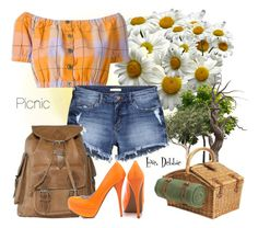 """""""Picnic"""" by debbie-michailides ❤ liked on Polyvore"""
