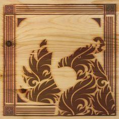 Phoenix sighting engraved in wood. | University of Phoenix