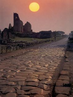 Appian Way: The Road to Apulia. 8 Days 7 Nights, Rome to Apulia Ancient Ruins, Ancient Rome, Ancient History, Places To Travel, Places To See, Visit Rome, Appian Way, Roman Roads, Roman History