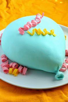 Vappupallokakku - Suklaapossu Birthday Cake, Desserts, Food, Tailgate Desserts, Deserts, Birthday Cakes, Essen, Postres, Meals