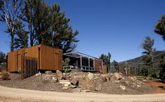 Australian prefab homes, factory-built, modular and sustainable. Prefab Home Prices, Small Prefab Homes, Cheap Prefab Homes, Prefab Modular Homes, Modular Home Plans, Module Design, Prefab Buildings, Sea Container Homes, Architect Design