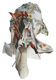 For the fans! by Ashkan Honarvar, via Behance Collages, Collage Art, Derek Gores, Matthew Stone, Marble Art, Photo Manipulation, Mixed Media Art, Creative Design, Digital Art