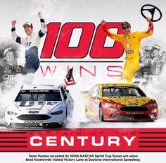 NASCAR Race Mom: Team Penske Wins #100 (#NASCAR #NSCS)