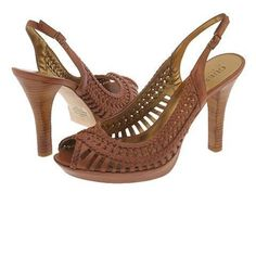 Guess High Heels Used but still has a lot of life to go. Perfect w/jeans! Guess Shoes Heels